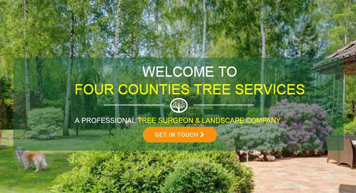 Four Counties Tree Services – Custom Website Design